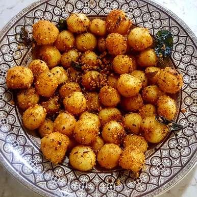 Photo of Suji balls by Insiya Kagalwala at BetterButter