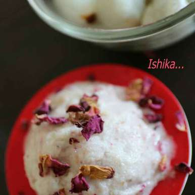 Photo of Lychee Coconut Sorbet with Rose  by Ishika Uppal at BetterButter