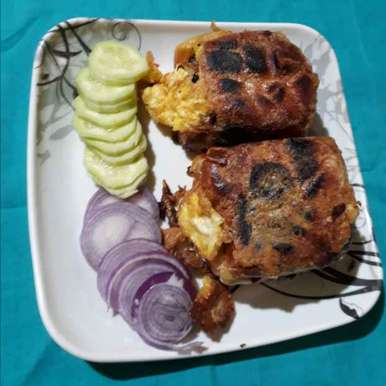 Photo of Staffed paou vaji bread by Jaba Sarkar at BetterButter