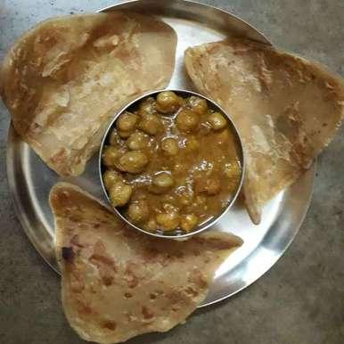 Photo of Restaurant stylea chana masala by Jaba Sarkar at BetterButter