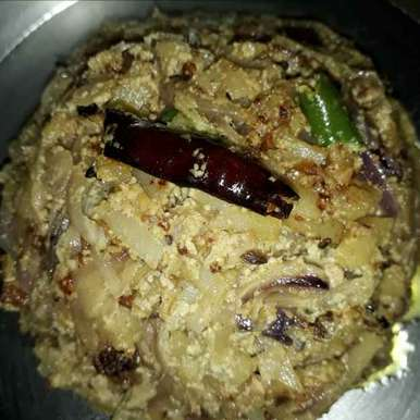 Photo of Alu peyaj vaja posto by Jaba Sarkar at BetterButter