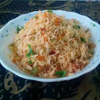Photo of Schezwan Fried Rice by Jaya Rajesh at BetterButter
