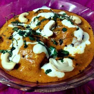 Photo of Restaurant Style Malai Paneer In Korma Gravy. by Jaya Rajesh at BetterButter
