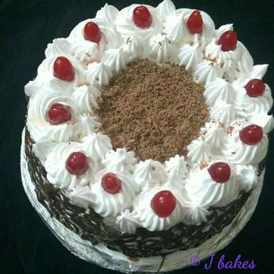 Photo of Classic Black forest cake by Jaya Rajesh at BetterButter