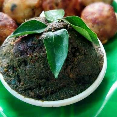 Photo of Kariveppalai -Inji Thogyal / Curry leaves and Ginger Chutney by Jaya Rajesh at BetterButter