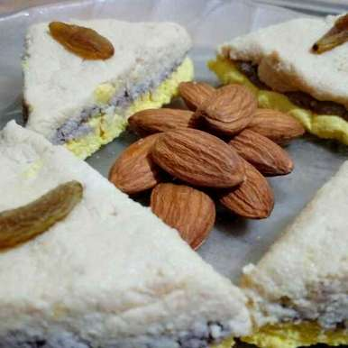 Photo of Multi color sandesh( for pregnant women,2 yeras baby,and elders also) by Jayashree Mallick at BetterButter