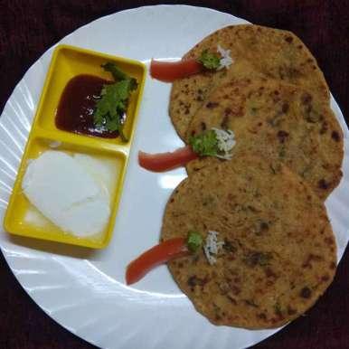 Photo of Chaval Paratha by Jhanvi Chandwani at BetterButter