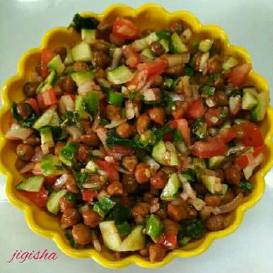 Photo of Chana chaat by Jigisha Jayshree at BetterButter