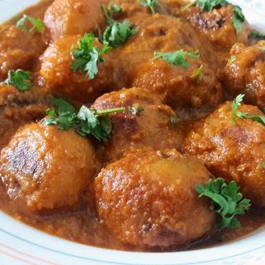 Dum aloo, How to make Dum aloo