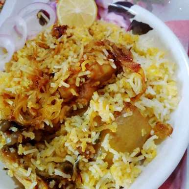 Photo of Chicken biryani without ghee by Juthika Ray at BetterButter