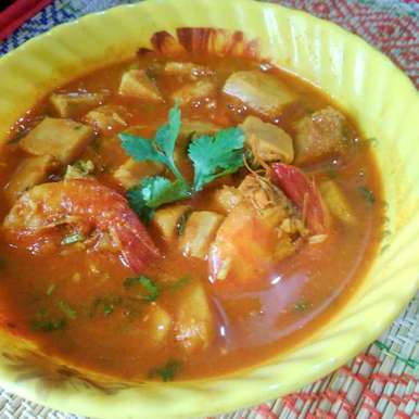 Photo of prawn with oll by Juthika Ray at BetterButter