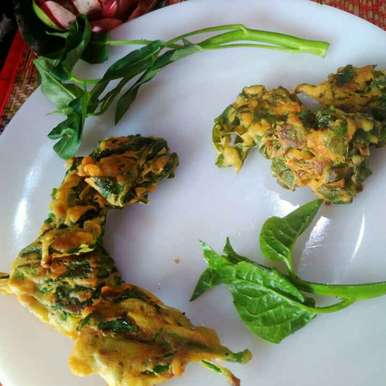 Photo of Saak pakora by Juthika Ray at BetterButter