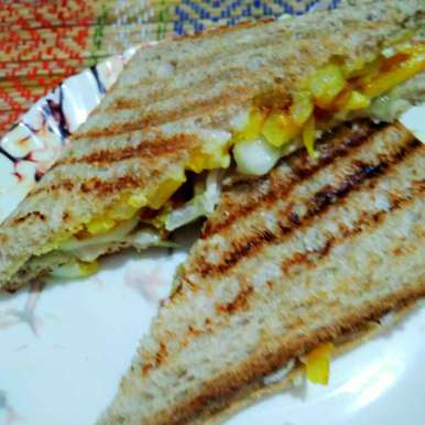 Photo of Sandwich with potato fry by Juthika Ray at BetterButter