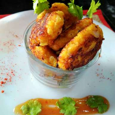 Photo of Pumpkin cutlets by Juthika Ray at BetterButter