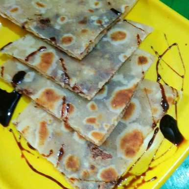 Photo of Chocolate paratha by Juthika Ray at BetterButter