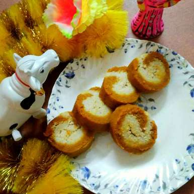 Photo of Gajor er roll by Juthika Ray at BetterButter