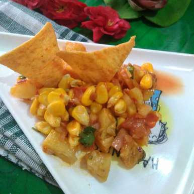Photo of Grill Pineapple corn salad by Juthika Ray at BetterButter