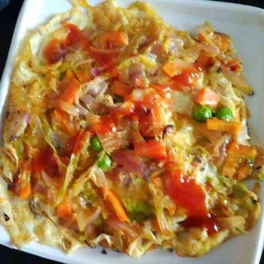 Photo of Veg omelet by Juthika Ray at BetterButter