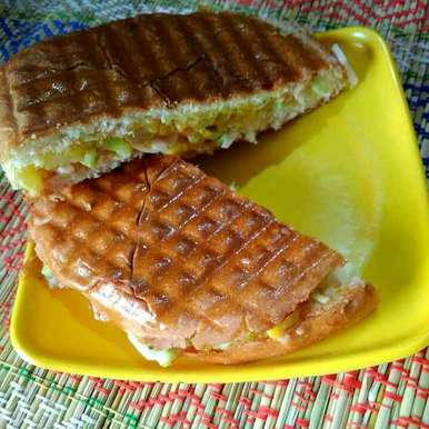 Photo of Paobhaji sandwich by Juthika Ray at BetterButter