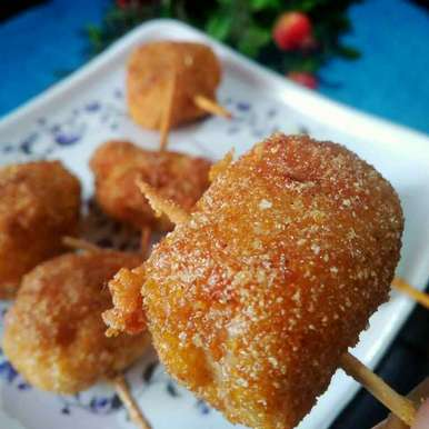 Photo of Cheese chicken fritters by Juthika Ray at BetterButter