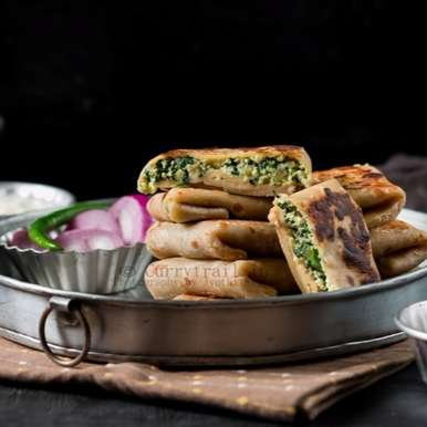 Photo of Whole Wheat Spinach Paneer Lifafa Paratha by Jyothi Rajesh at BetterButter