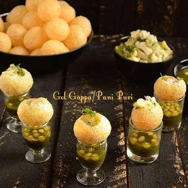 Photo of Gol Gappa | Pani Puri by Jyothi Rajesh at BetterButter