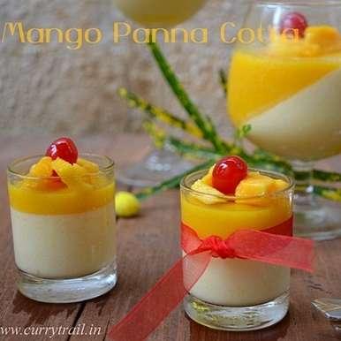 Photo of Mango Panna Cotta by Jyothi Rajesh at BetterButter