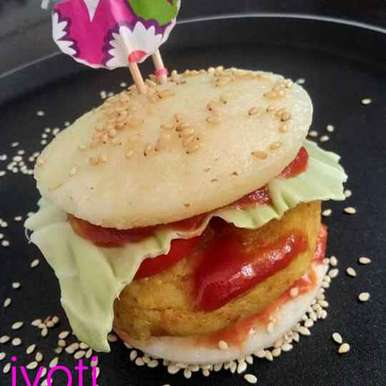 Photo of Idli burger by Jyoti Adwani at BetterButter