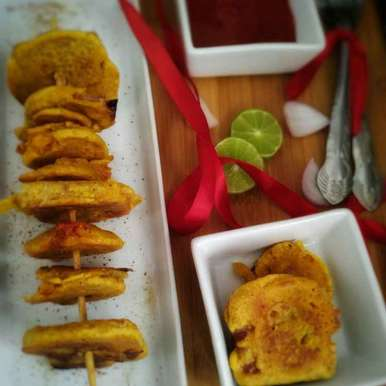 Photo of Biscuits tikka by Jyoti Adwani at BetterButter