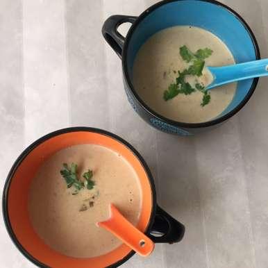 Photo of Mushroom Soup by Jyoti Bhalla Ahuja at BetterButter
