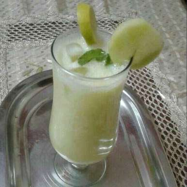 Photo of Musk melon mocktail by Jyoti Sharma at BetterButter
