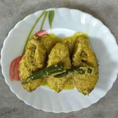 Photo of Narkel dudhe vapa vetki by Kaberi Bhattacharya at BetterButter