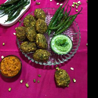 Photo of Sprout Moong Vada by Kalpana Parmar at BetterButter