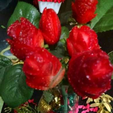 Photo of Strawberry Roses by Kalpana Vinay at BetterButter