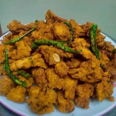 Photo of Moongpeanut pakoda by kalyani shastrula at BetterButter