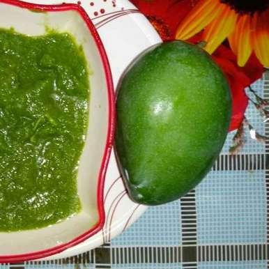 Photo of Raw mango chutney by Dr.Kamal Thakkar at BetterButter