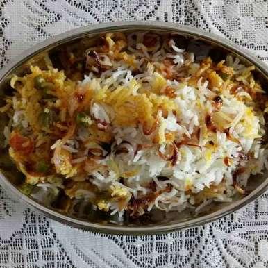 Photo of Vegetable Biryani by Dr.Kamal Thakkar at BetterButter