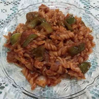 Photo of Pasta In Red Sauce by Dr.Kamal Thakkar at BetterButter