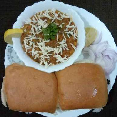 Photo of Cheese paav bhaji by Dr.Kamal Thakkar at BetterButter