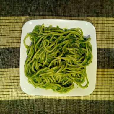 Photo of Spinach sauce spaghetti by Dr.Kamal Thakkar at BetterButter