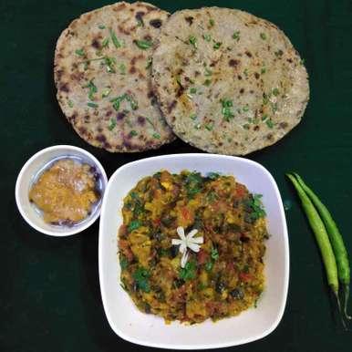 Photo of Lasaniya rotla ne ringan no olo by Dr.Kamal Thakkar at BetterButter