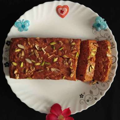 Photo of Carrot And Nuts Cake by Dr.Kamal Thakkar at BetterButter