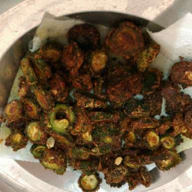 Photo of Bitter gourd fry by Kamala Nagarajan at BetterButter