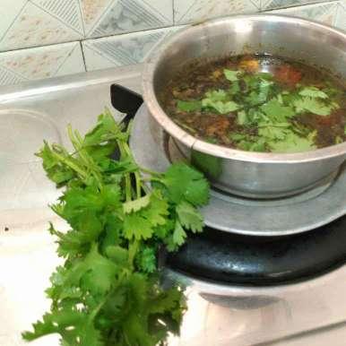 Photo of Lime rasam by Kamala Nagarajan at BetterButter