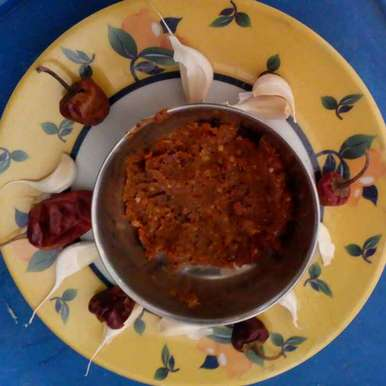 Photo of Garlic chutney by kamala shankari at BetterButter