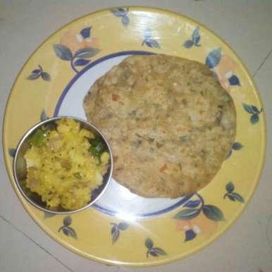 Fenugreek keerai chappathi recipe in Tamil,வெந்தயக்கீரை சப்பாத்தி, kamala shankari