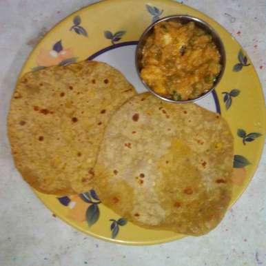Photo of Dhal chappathi by kamala shankari at BetterButter