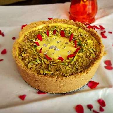 Photo of Gulab jamun cheesecake by Kamalika Bhowmik at BetterButter