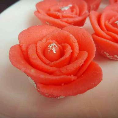 Photo of Instant rose peda by Kamalika Bhowmik at BetterButter