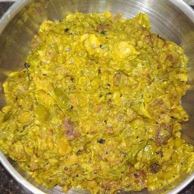 Baigan vadi, How to make Baigan vadi